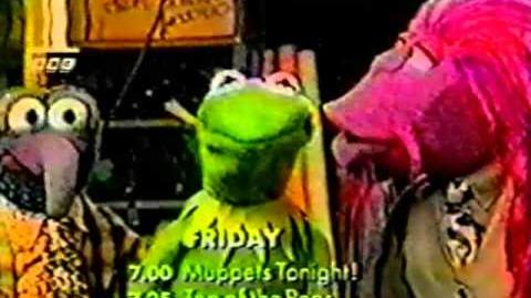 BBC1 promos for Muppets Tonight