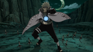Minato Rasengan and Kunai