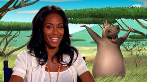 "Madagascar Escape 2 Africa (2008) - Interview Jada Pinkett Smith ""On coming back to do the sequel"""