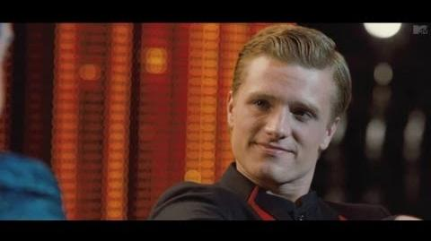 Hunger Games Peeta's Interview With Caesar