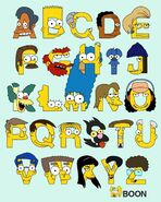 Simpsons ABCs