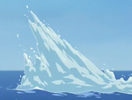 Iceberg spikes