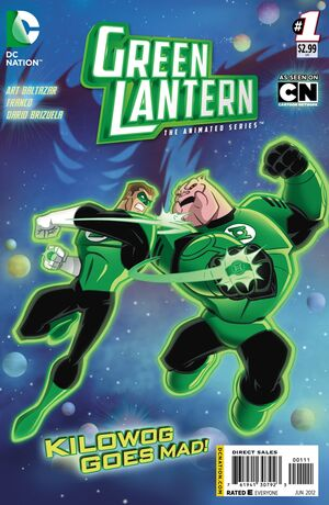 Cover for Green Lantern: The Animated Series #1