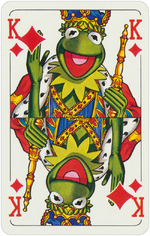 1978 playing cards King Diamonds