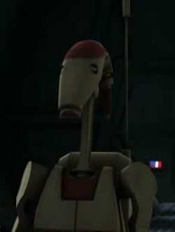 Unidentified OOM security battle droid 3 (Citadel)