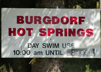 Burgy hot springs