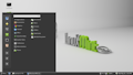 Screenshot of Linux Mint 13 RC