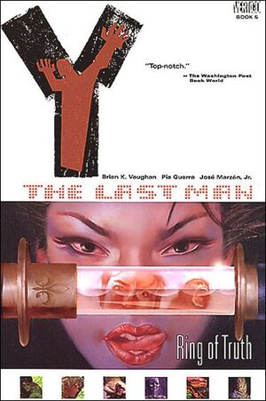 Cover for Y: The Last Man (Collections) #5