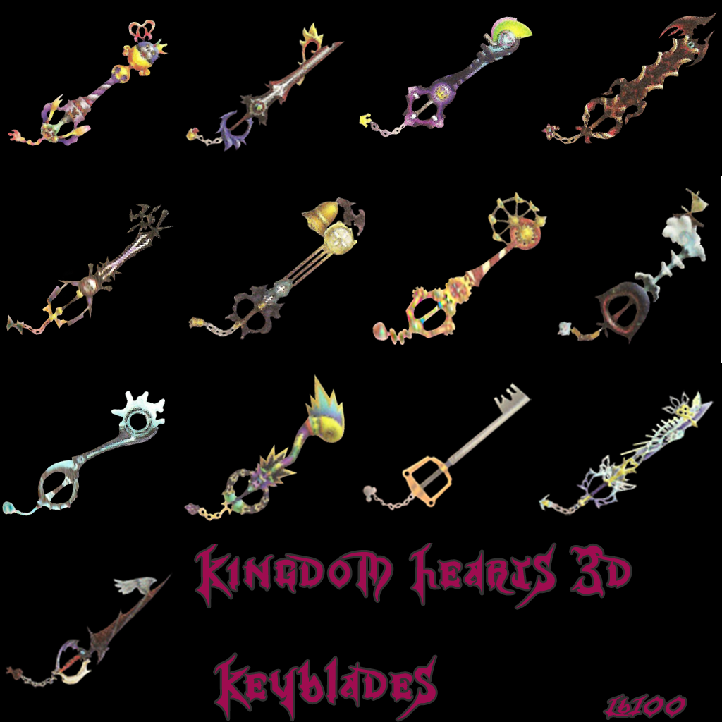 Acerca del archivo Historial del archivoKingdom Hearts Dream Drop Distance Riku Keyblades