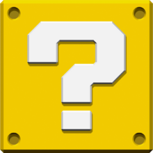 Question Block Art - New Super Mario Bros