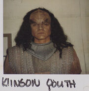 Klingon actor 1, Birthright Part II