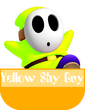 Yellow Shy Guy MR