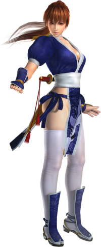 DOA5 Kasumi Render