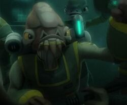 Unidentified Mon Calamari commander