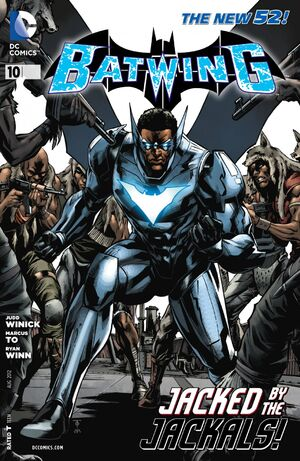 Cover for Batwing #10