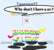 Tayenna why no av.