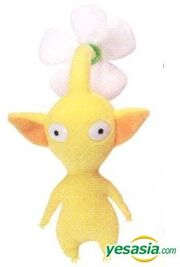 Yellow flower plushie