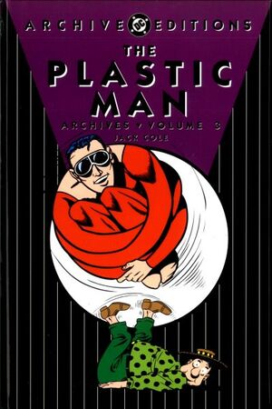 Cover for Plastic Man Archives #3