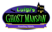 Nintendo Land - Luigi's Ghost Mansion logo