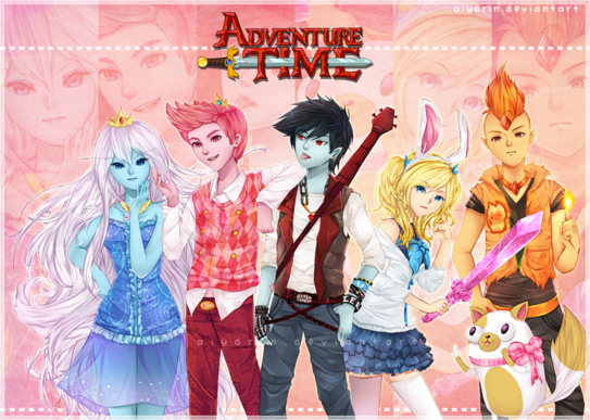 Adventure team by aiydrin-d4w8dl4