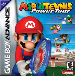 Mario Tennis - Power Tour Coverart