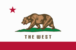 The West flag