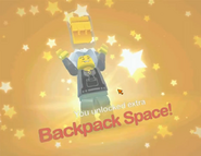 Backpack space unlocked
