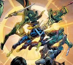 Guardians of the Galaxy (Earth-616) from Avengers Assemble Vol 2 4