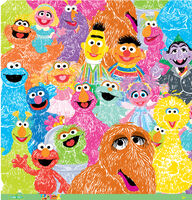 Ek success 2011 sesame paper furry bunch