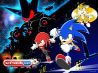 Sonic Heroes Wallpaper Version Anime