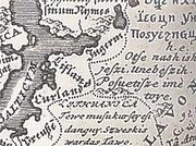 220px-Lithuanian language in European language map 1741