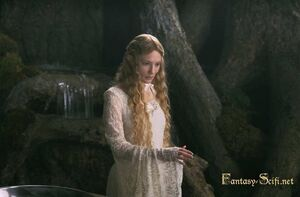 Galadriel en su jardin