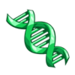 Green DNA-icon