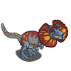 Blue Dilophosaurus-icon