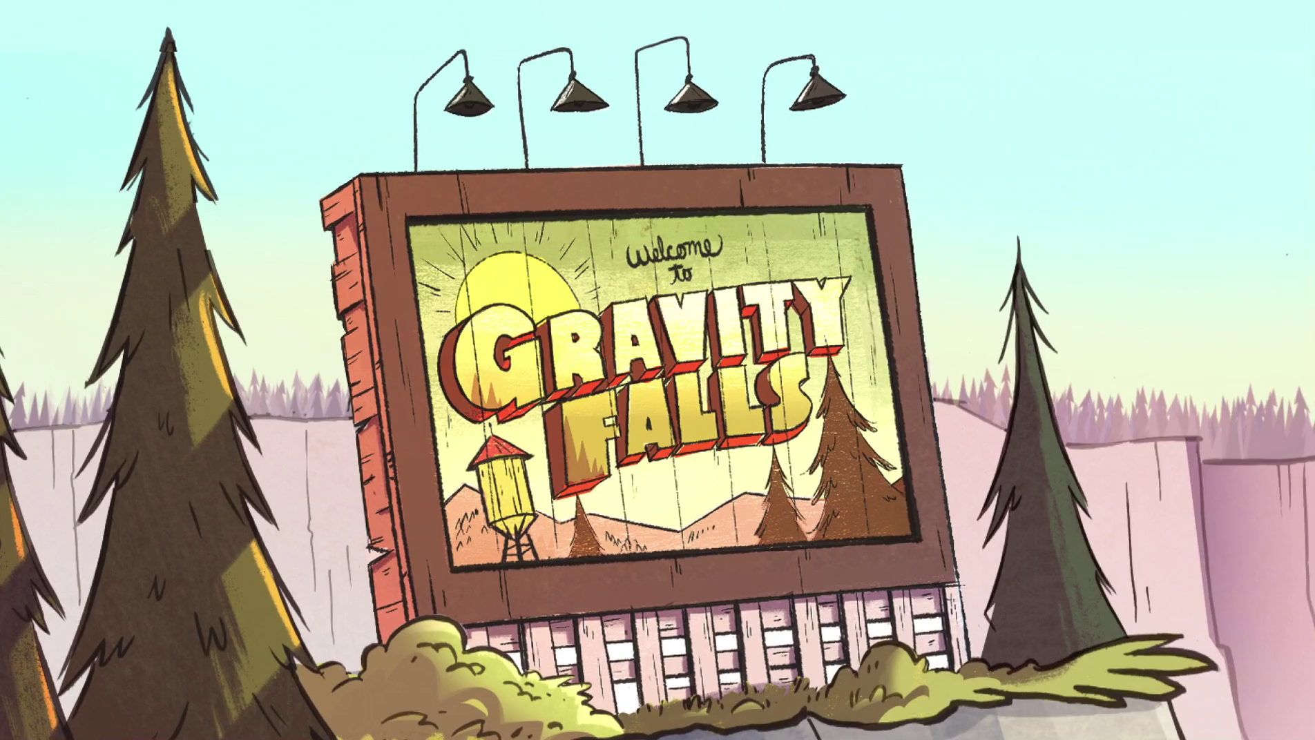 Disney Channel : The Gravity Fall. ( Thị Trấn bí ẩn )