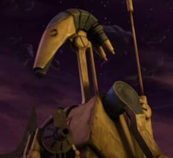 Unidentified B1 battle droid (R2-D2)