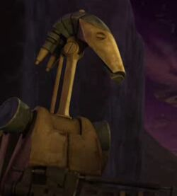 Unidentified B1 battle droid 2 (R2-D2)