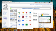Chrome OS 21.0.1172 Aura Dev