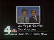 WNBC-TV's Las Vegas Gambit & Blockbusters Video ID From September 1980