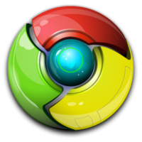 Chrome Logo 3D