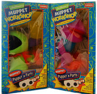 Muppet Workshop Puppet &#39;n Parts box fronts