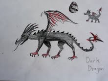 Dark Dragon Art