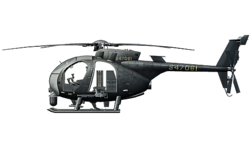 AH-6J Littlebird Battlelog Icon