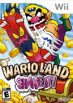 Wario Land Shake It! - North American Boxart