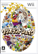 Wario Land Shake It! - Japanese Boxart