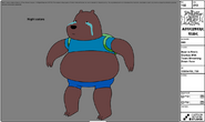 Modelsheet - BearinFinn&#39;sclotheswithtearsstreamingdownface