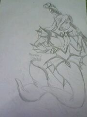Qarin kawaii mermaid the mythological aquatic creature