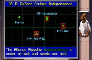 Defend cruiser independence