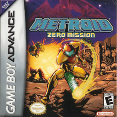 Metroid Zero Mission - North American Cover