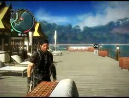 Just Cause 2 - Pekan Belalang - civilian village 32